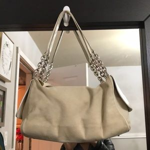 Tod's Chain Suede Purse
